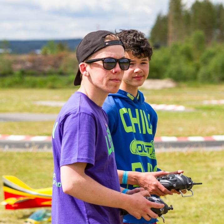 Bli pilot på modellflyskolen! FOTO: Thomas Kristensen